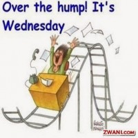 Onsdag - Over the hump!